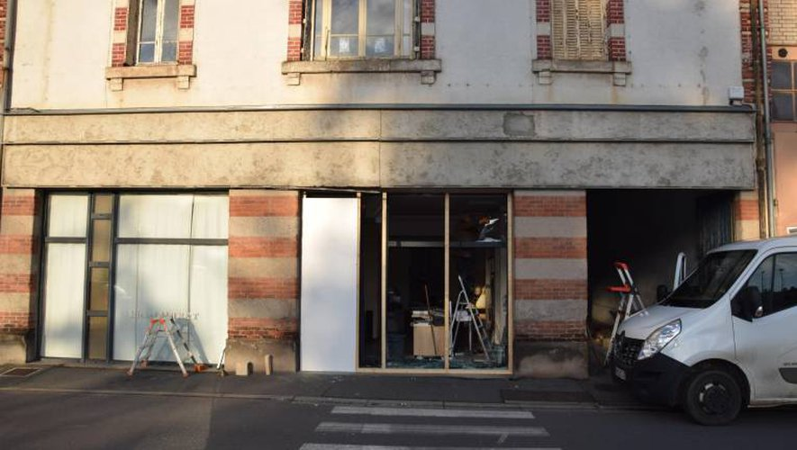 Decazeville : la voiture achève sa course dans un atelier d'architecture