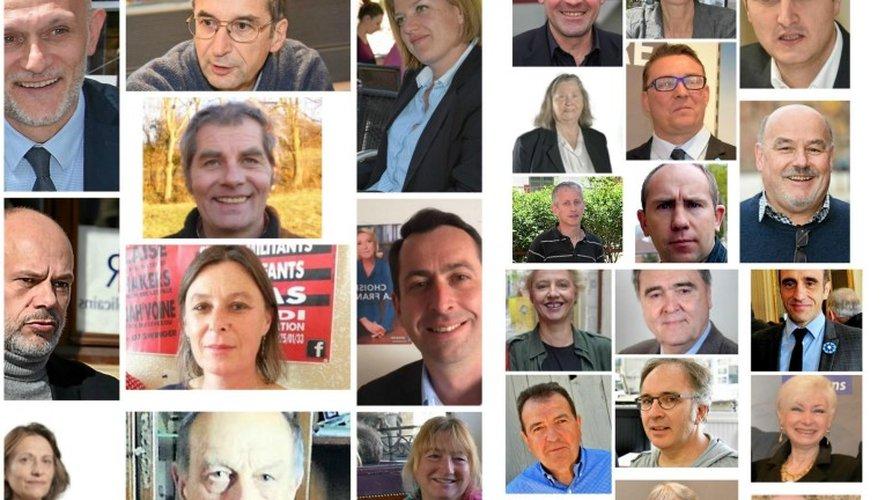 Législatives : découvrez les visages de tous les candidats en Aveyron
