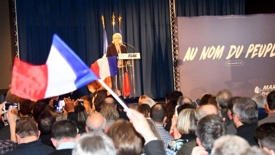 Marine Le Pen en Aveyron : retour sur une journée en images