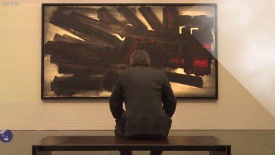 Arte filme l'Aveyron «des dolmens et des causses» en compagnie de Pierre Soulages