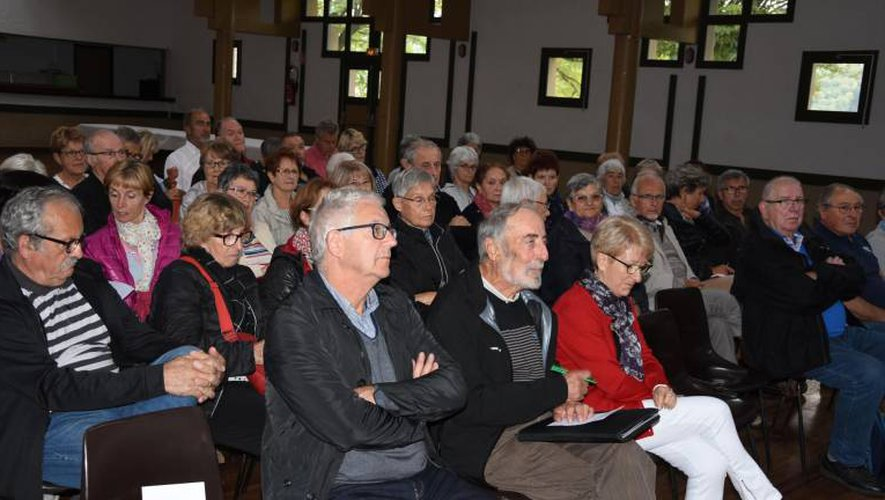 Les adhérents ont participé nombreux à l'assemblée.