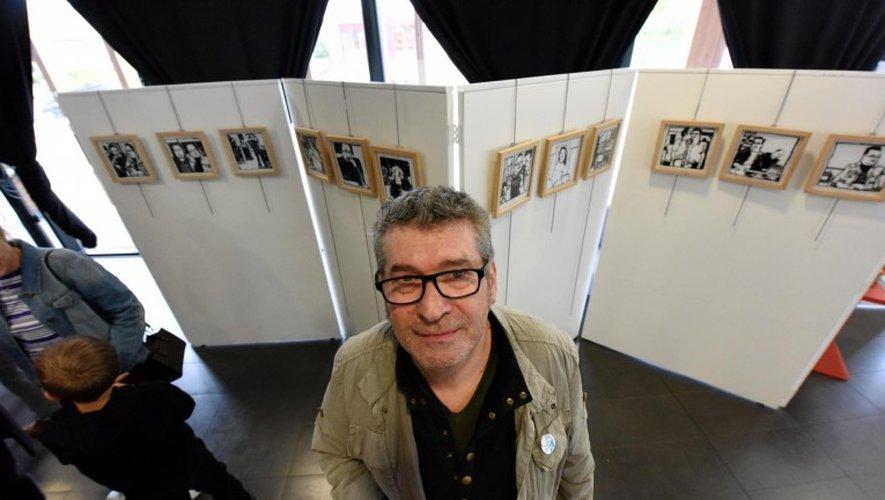 L'artiste expose dans le hall de La Baleine.             Photos JoséTorres