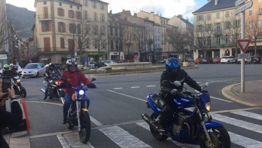 Une quarantaine de motards étaient au rendez-vous ce dimanche matin.