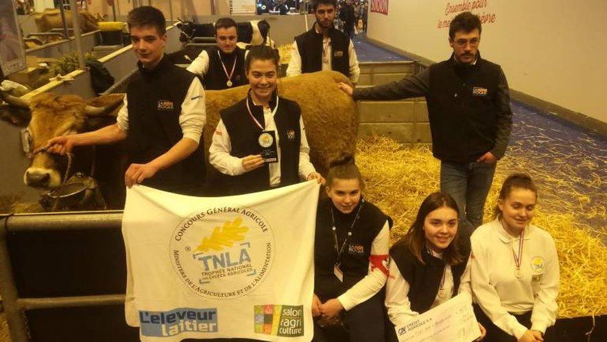 Les étudiants aveyronnais décrochent une belle troisième place à l'issue de leur première participation au TNLA.