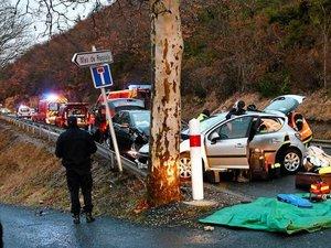 Millau. Deux blessés dans une collision, côte de La Cavalerie