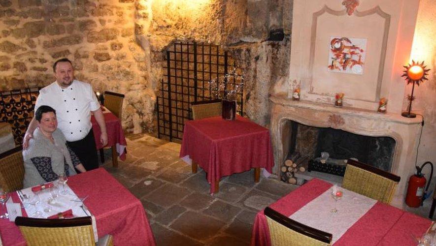 À Aubin, l'Auberge du Fort cuisine qualité et authenticité