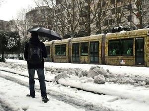 Neige : à Montpellier, la situation revient peu à peu à la normale