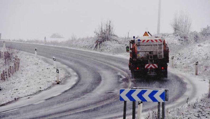 Météo : l'Aveyron en vigilance jeudi, le Larzac sous la neige