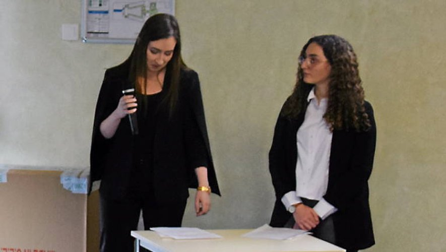 Les étudiants se sont succédé devant le jury tout au long de la journée (Photo Ph.H.).