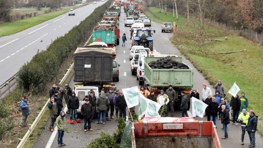 L'Aveyron à son tour touché par le mouvement de grogne des agriculteurs.