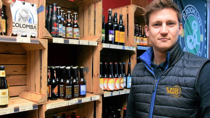 Fabien Gaudin, l'un des organisateurs du Salon de la bière.