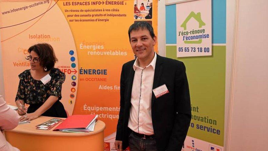 Bruno Alary, directeur de l'Adil en Aveyron.