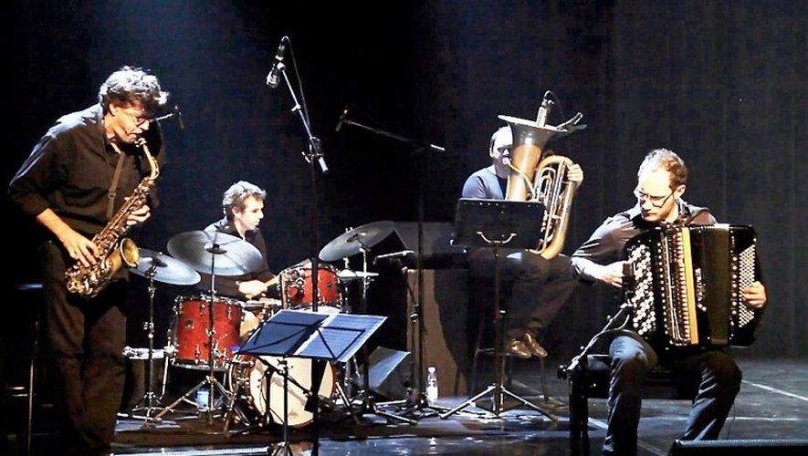 Le jazz du «Didier Labbé Quartet» ouvrira le bal jeudi soir, à Decazeville.