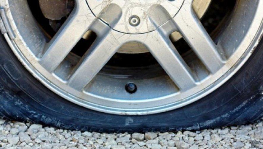 Un creveur de pneus en série sévit-il dans les rues d'Aubin ?