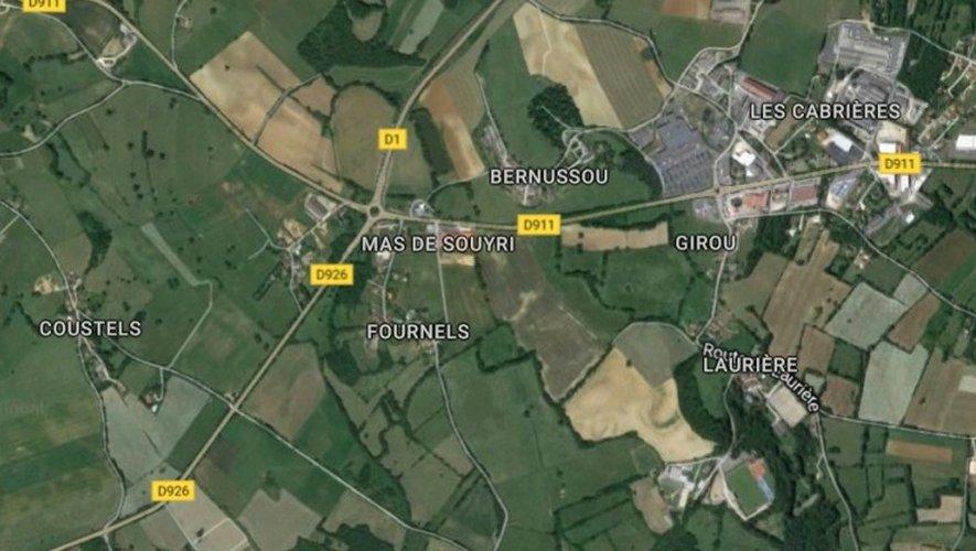 Un motard légèrement blessé à Villefranche-de-Rouergue