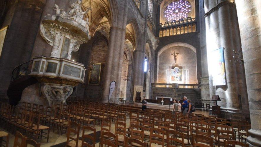 La rénovation de l'intérieur de l'édifice pourrait permettre à Rodez de mieux concourir pour un classement à l'Unesco.