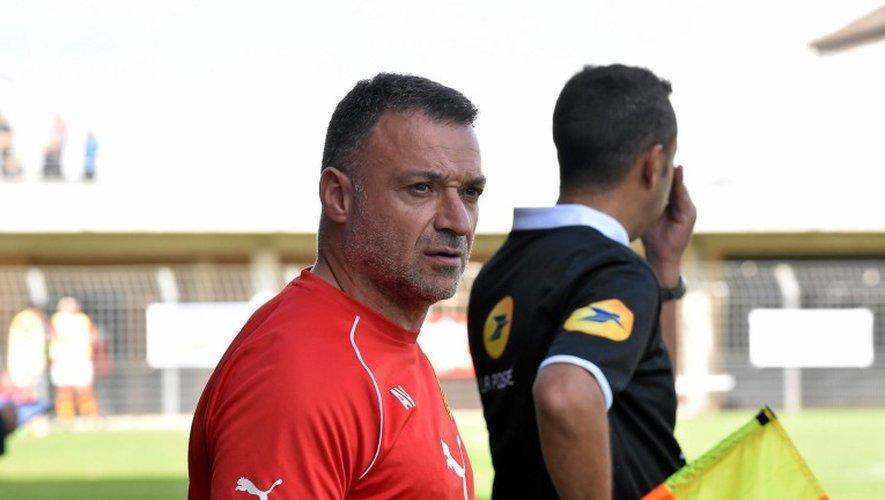 Arnaud Vercruysse sera l'entraîneur de Rodez lors de la saison 2017-2018.