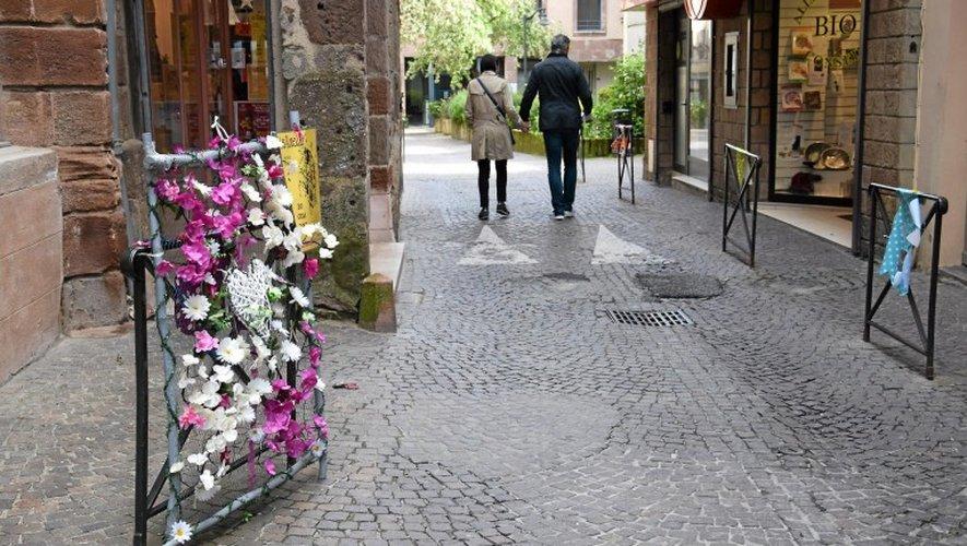 Les rues ont été fleuries pour l'occasion.