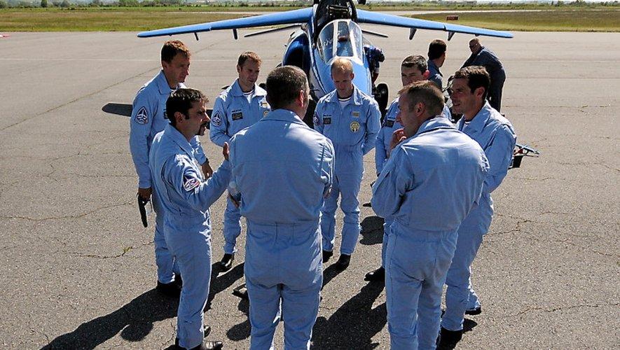 La patrouille de Francefera son passageau-dessus de l'aéroportdimanche prochain.