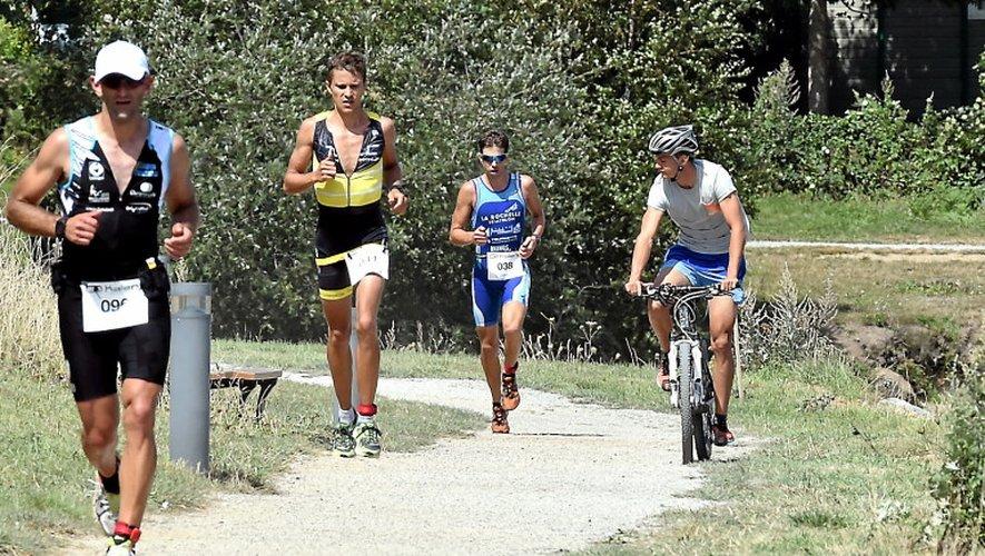 Triathlon du Lévezou : Renneteau en costaud, Tri 12 aussi