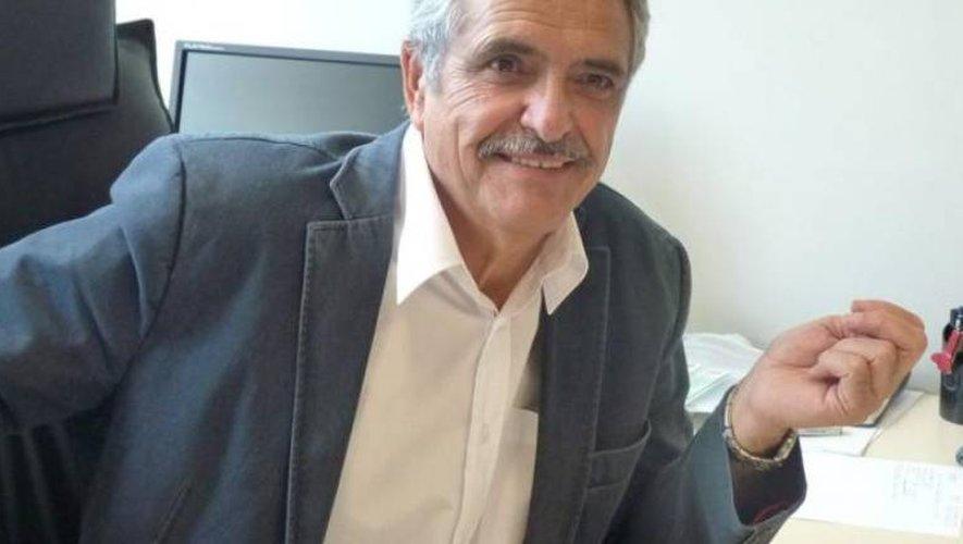 André Martinez, maire d'Aubin.