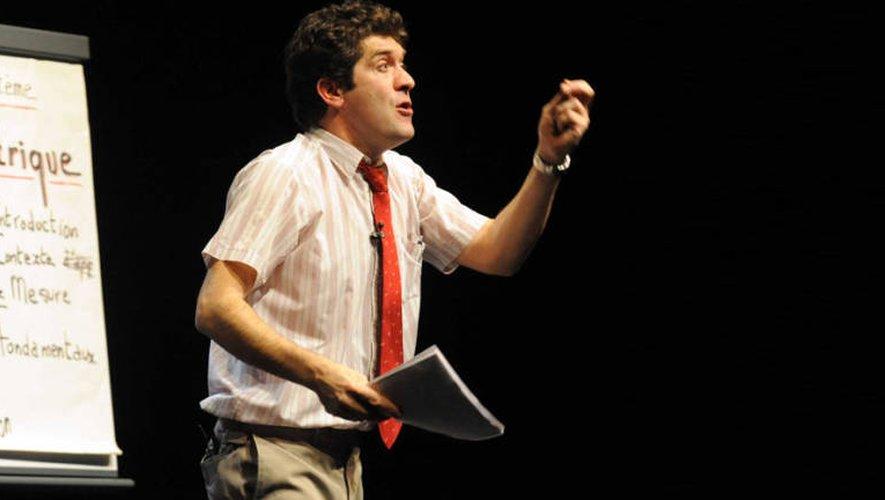 Samedi à Montbazens, spectacle de Luc Chareyron « éloge de la pifométrie » sera proposé à partir de 21 h.