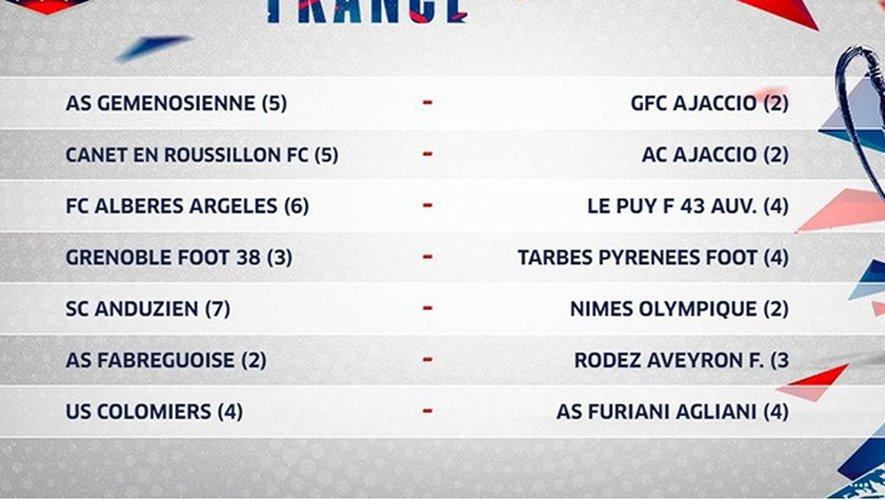 Coupe de France : Rodez ira à Fabrègues
