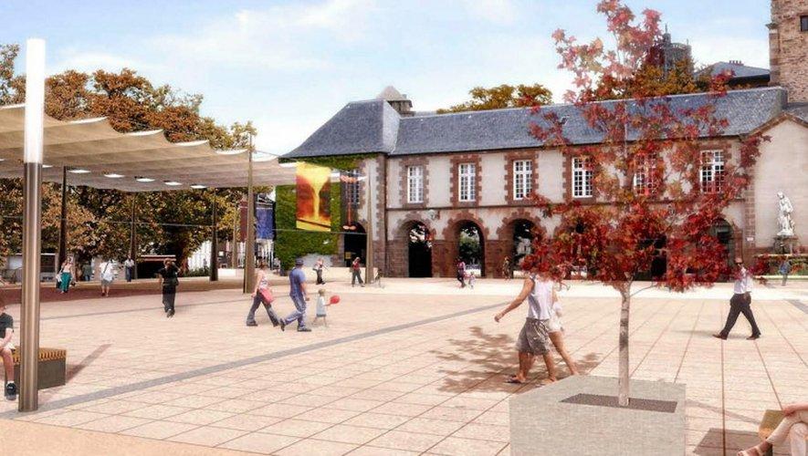 Bientôt un tout nouveau visage pour la place Foch à Rodez : découvrez le projet