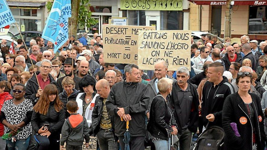 Fermeture de la maternité de Decazeville : une manifestation, ce lundi, devant l'Agence régionale de santé, à Rodez