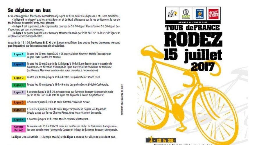 Circulation, stationnement : tout ce qu'il faut savoir avant la venue du Tour de France à Rodez