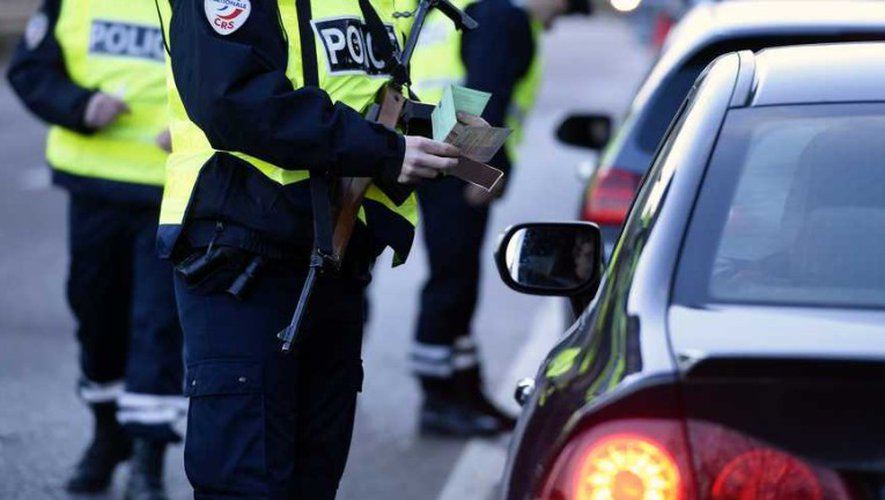 Aubin : interpellation agitée sur fond d'alcoolémie au volant