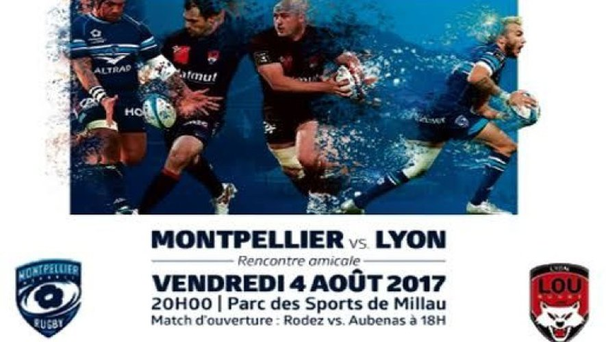 Rugby : gagnez vos places pour le match Montpellier-Lyon à Millau