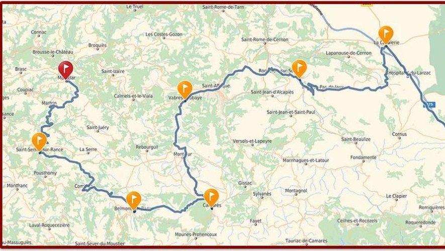 La Route du Sel explorera le Sud-Aveyron, découvrez le parcours