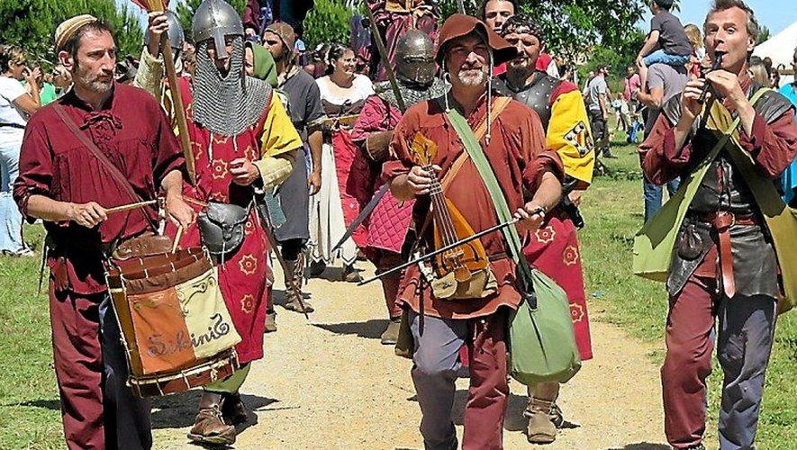 Ce week-end, Entraygues retourne une nouvelle fois au Moyen-Âge.