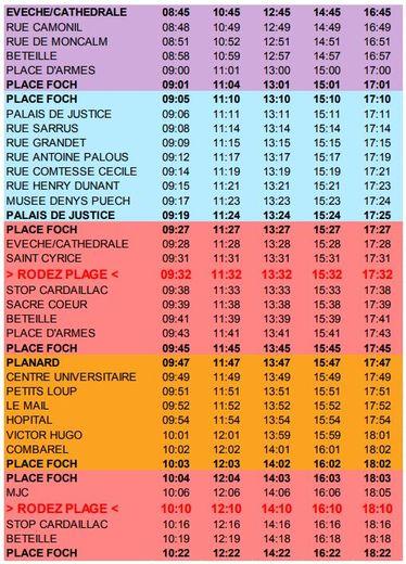 Rodez Plage : demandez le programme des activités de la première semaine