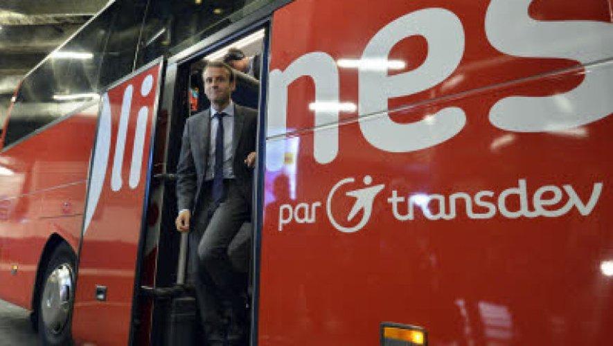 Création d'un statut spécifique pour les conducteurs des «cars Macron»