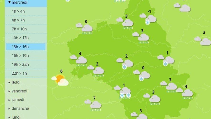 Il va neiger mercredi et jeudi en Aveyron