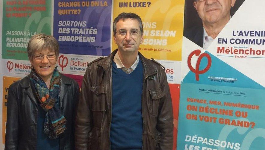 Pierre Defontaines, un médecin généraliste de 62 ans, et sa suppléante, Sylvie Robert,
