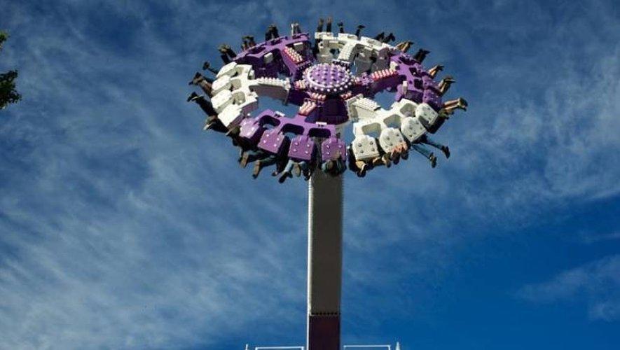 L'attraction « la tornade » arrivera directement d'Italie où elle a été conçue.