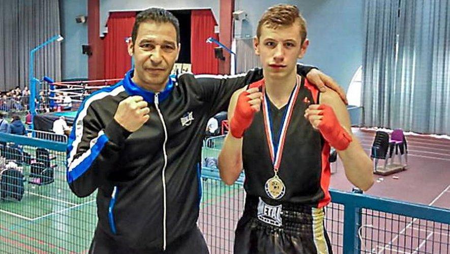 Romani devient le premier boxeur licencié en Aveyron à décrocher un titre national.