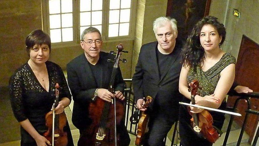 Le Janus Quartet.