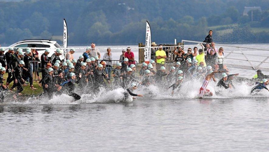 Le triathlon du Lévezou attend plus de 1200 triathlètes ce week-end