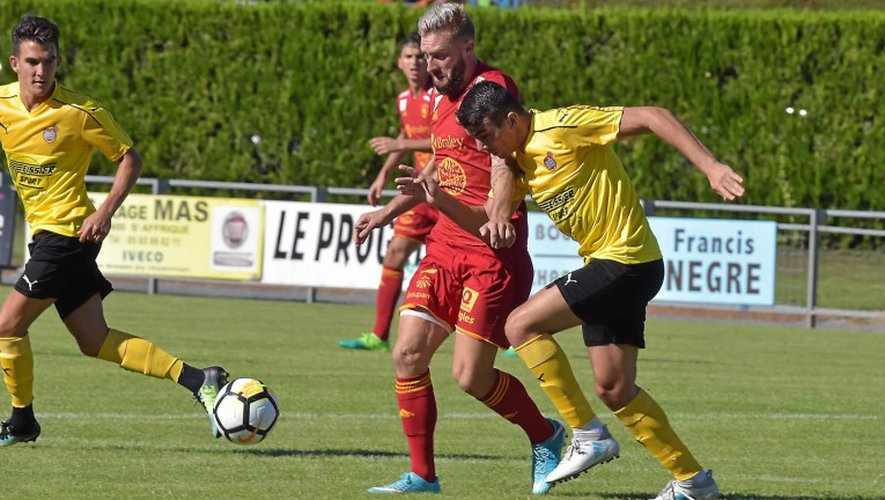 En amical le 28 juillet dernier, Rémy Boissier et le Raf avaient craqué face à l'ASB : 3-0.