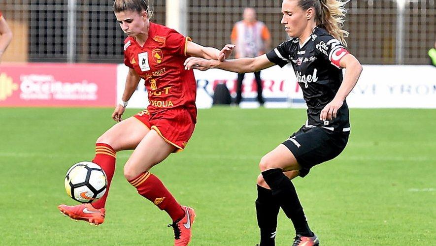Les Ruthénoises n'ont pas pu faire mieux que le nul (1-1) samedi contre Guingamp au stade Paul-Lignon.