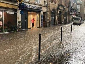 Inondations, incendie, chutes d'arbres: les orages ont laissé des traces en Aveyron