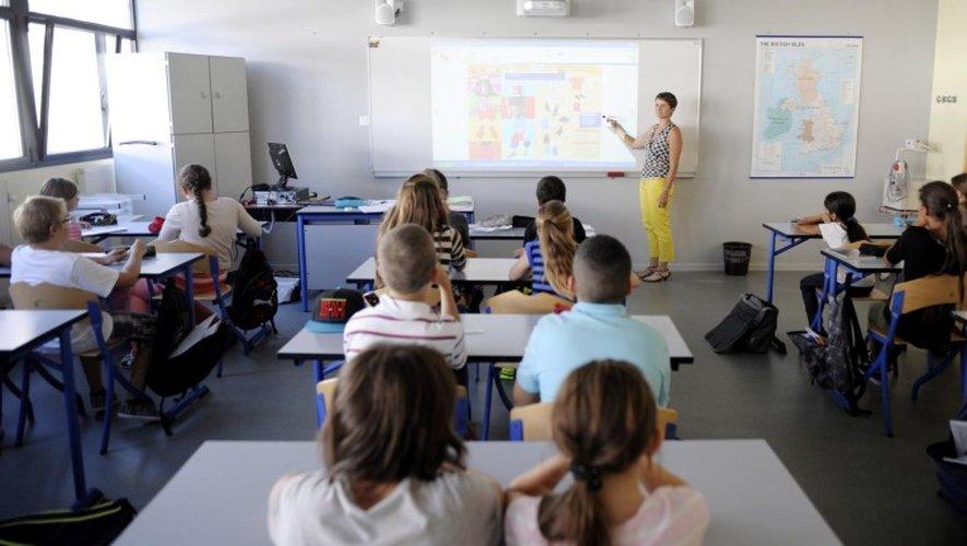 C'est le retour en classe ce matin pour les plus jeunes.