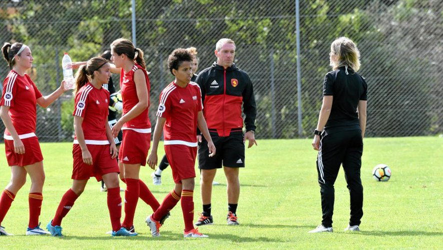 Football féminin : Rodez s'incline 7-0 pour son entrée en matière !
