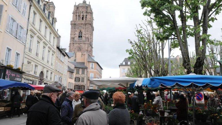 Le marché de Rodez à l'honneur prochainement sur France 5.