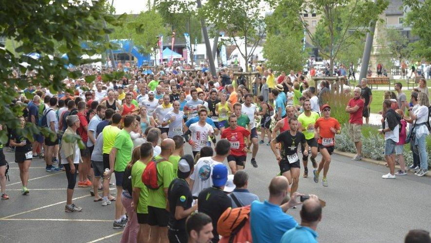 1002 coureurs au départ de l'ekiden de Rodez.
