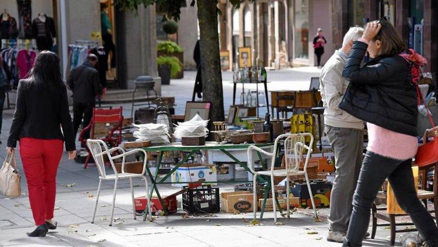 Encore pas mal de vide-greniers en Aveyron durant les prochains jours.